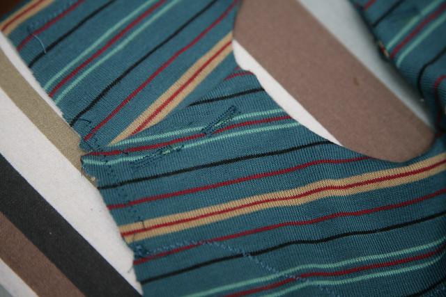 Crappy buttonholes.