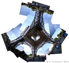 eiffel tower collage