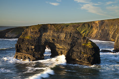Sea Arch - Nuns Beach Ballybunion (Francis Foley) Tags: ireland cliff kerry ballybunion nunsbeach seasarch