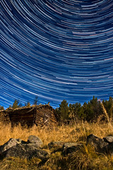 Starstruck @ Geilo, Norway (MNYFOTO) Tags: longexposure sky night star nightscape trail astronomy startrail