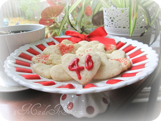 sugar heart cookies