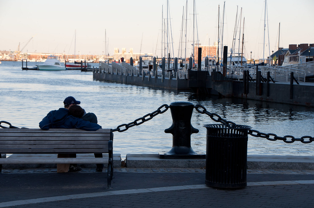 love at Boston harbor