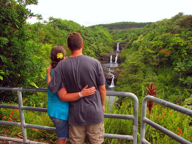Kenny and Karen waterfalls
