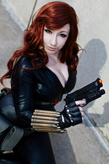 NYCC (Anna Fischer) Tags: newyork anime comics comic super ironman hero comicbook blackwidow marvel fest con nycc nyaf