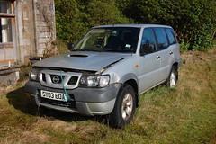 Abandoned 2003 Nissan Terrano (aqualite) Tags: ford abandoned scotland nissan 4x4 argyll 4wd suv awd terrano maverick dumped mistral