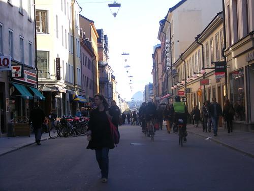La arteria principal de Södermalm