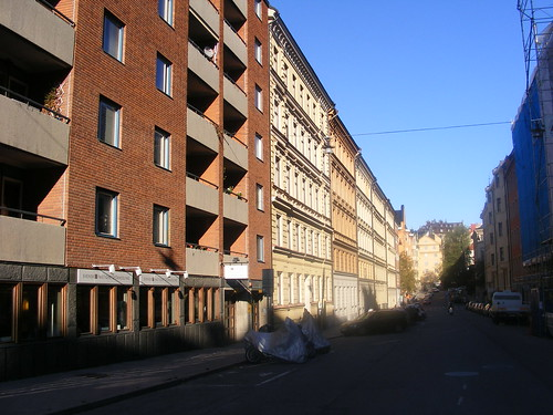 Södermalm, con una arquitectura particular que me recuerda un poco a Berlin