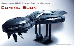 Covenant CCS Class Battle Cruiser (BrickTechStudios) Tags: new 2 3 brick alexandria star 1 tv marine order jackal with lego 4 ghost halo banshee architect part elite link hunter hornet wars reach studios combat update grunt brute spartan mongoose evolved wraith moc odst