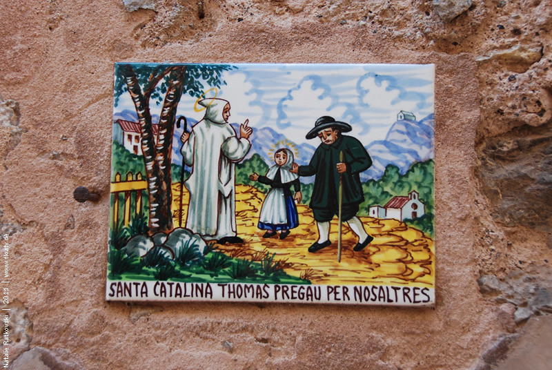 Valldemossa , ceramic tile