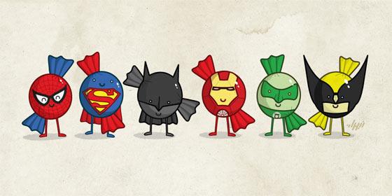 ilustraciones de héroes