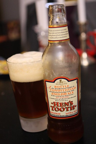 Hen's Tooth Bottle Conditioned English Ale