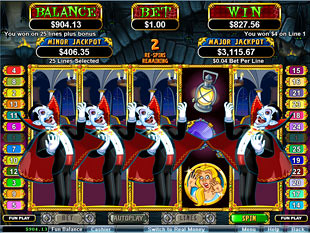 Count Spectacular Slot Re-Spin Game