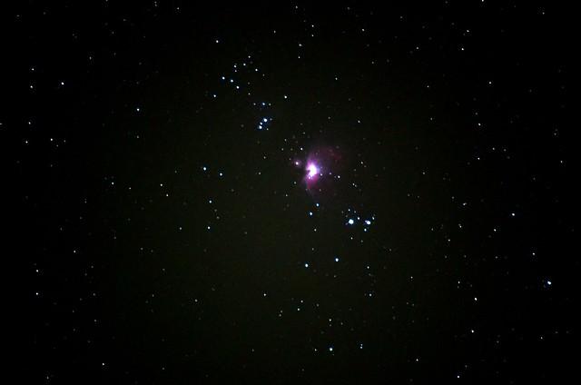 オリオン大星雲 with PENTAX