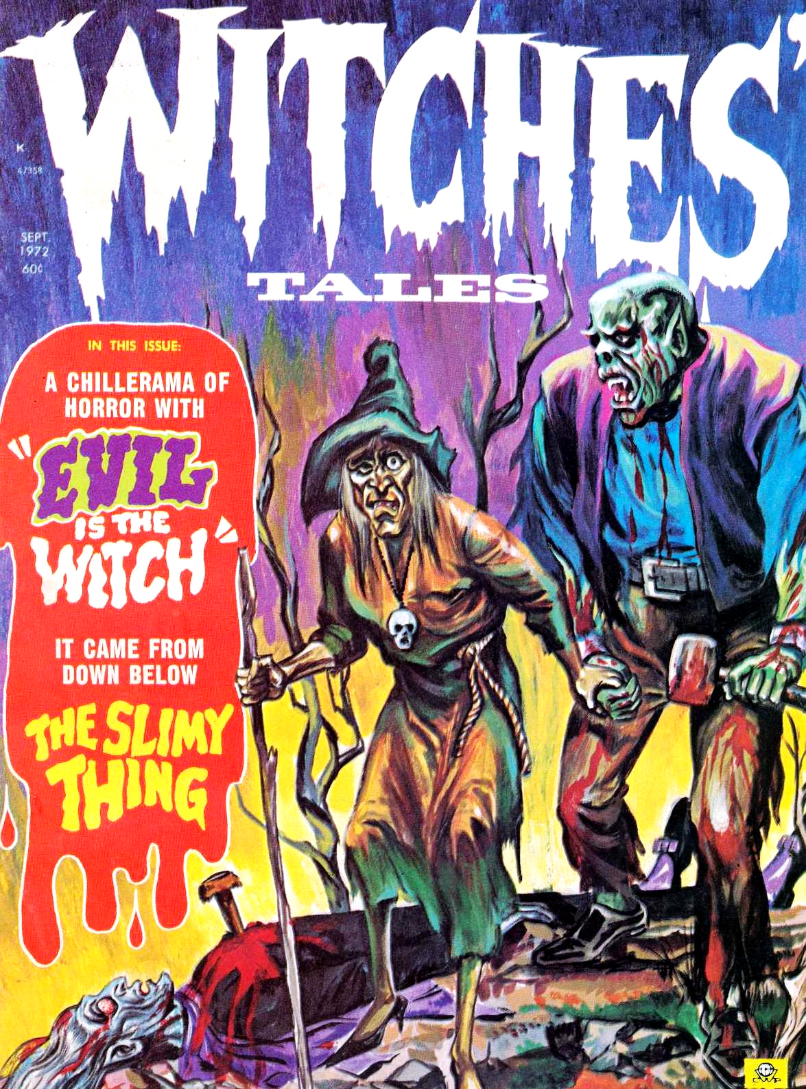 Witches' Tales Vol. 4 #5 (Eerie Publications 1972)