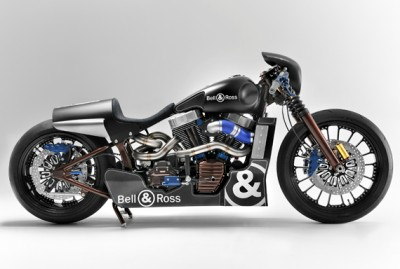 Bell & Ross x Harley Custom Cafe Racer