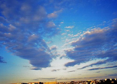 Ciel de l'automne