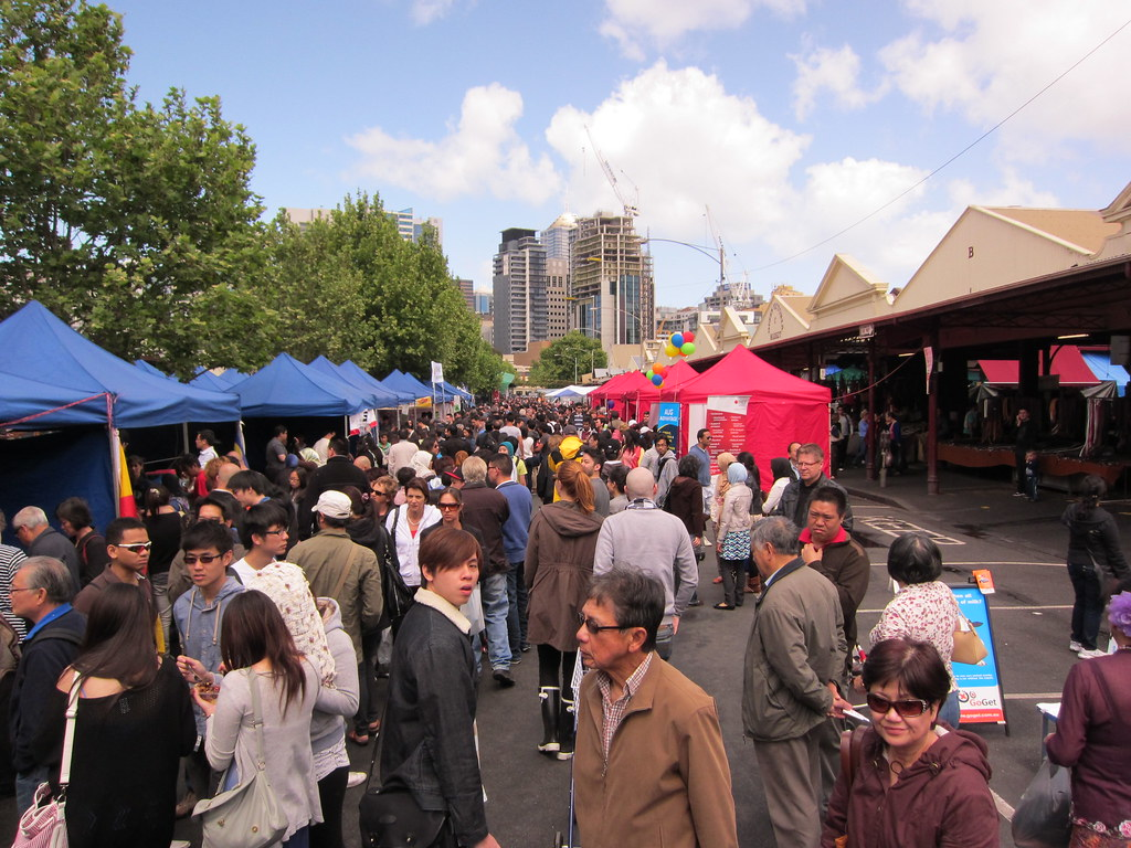 Melbourne Queen Victoria Market by Terrazzo, on Flickr