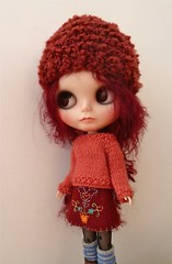 skirt, hat and sweater set