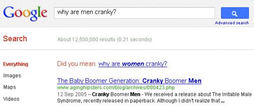 Sexist Google