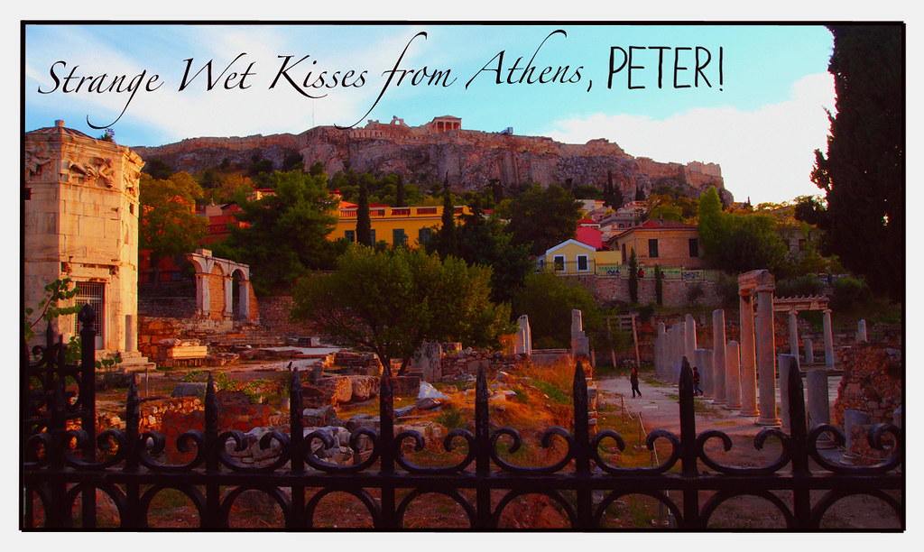strange wet kisses from athens peter