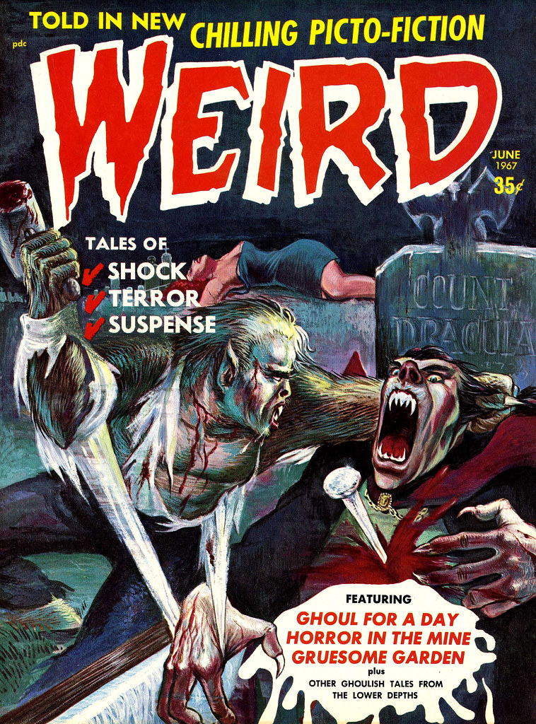 Weird Vol. 02 #3 (Eerie Publications, 1967)