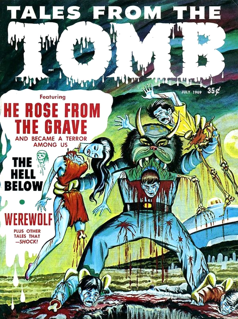 Tales from the Tomb - Vol. 1 #6 (Eerie Publications, 1971)
