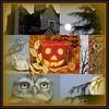 Mosaic Monday - Halloween (konnykards) Tags: moon halloween pumpkin mosaic picasa owl picnik mosaicmonday