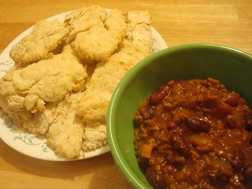 Chili and Biscuits