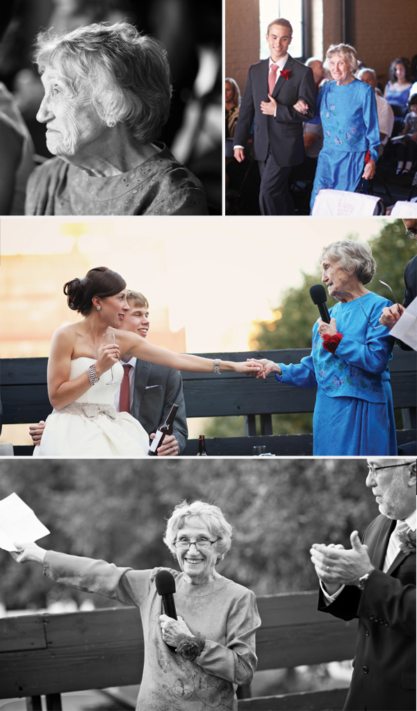 Omaha, Nebraska Wedding Planner | My very special grandma
