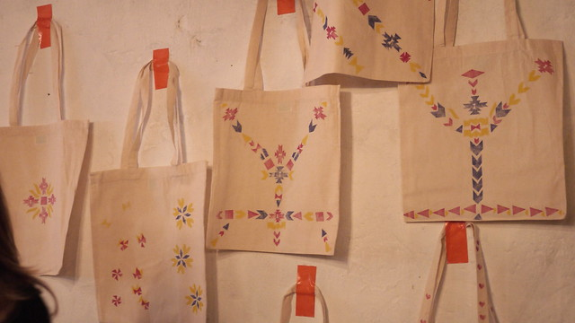 Craft Night Etsy - atelier tote bags