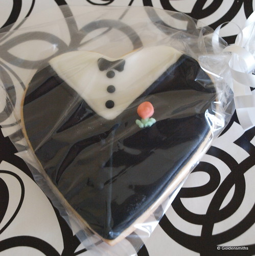 Groom Cookie