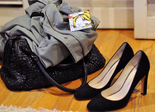 cazabat shoes-jacket and bag
