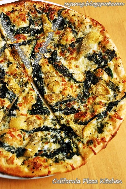 Roasted Artichoke and Spinach Pizza
