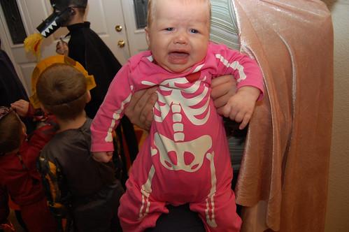 screaming skeleton