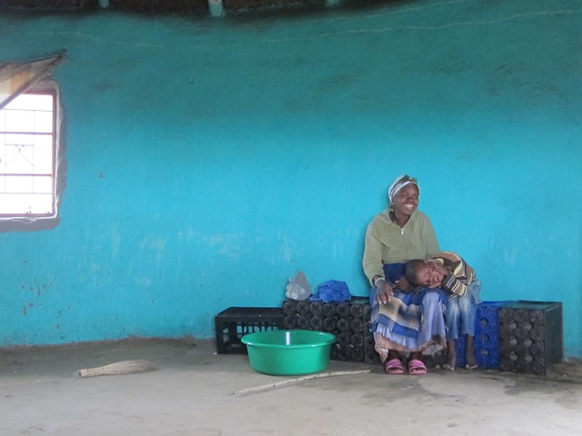 Xhosa Mother and Child
