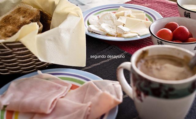 35/366: segundo desayuno