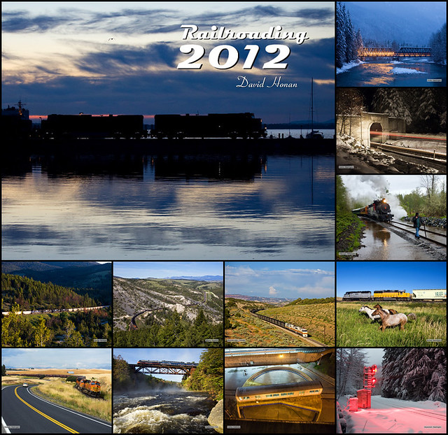 Railroading 2012 Wall Calendar for sale