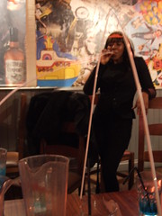 Having a Long Drink (failing_angel) Tags: london leavingdrinks 211011