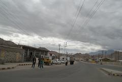 Leh street reconstructed after flood (Sapna Kapoor) Tags: india flood market leh ladakh rebuilt constructed