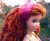 Fragile (Alrunia) Tags: dreadlocks doll head ooak barbie yarn mold dreads fashiondoll mattel steffie reroot 16thscale playscale headmold