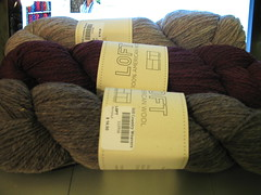 Brooklyn Tweed Loft yarn
