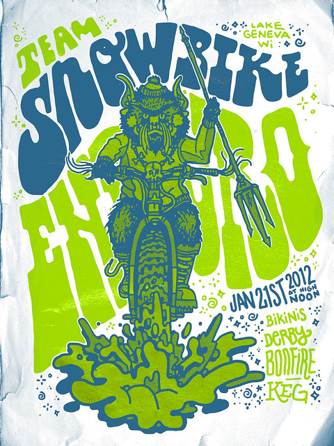 Team SnowBike Enduro 2012