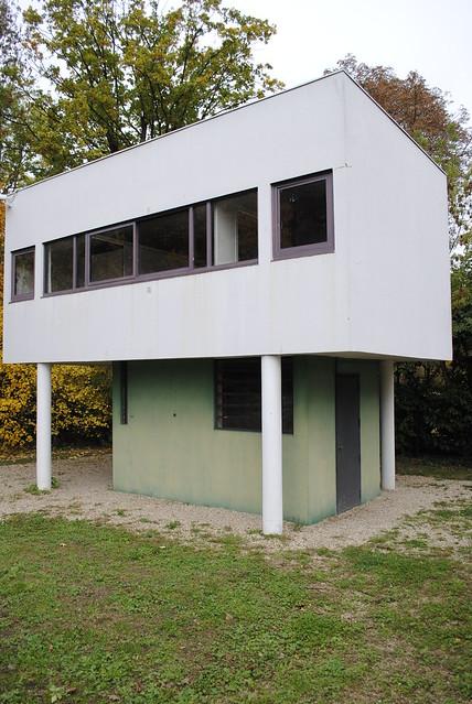 Gardener's House, Villa Savoye, Poissy, France