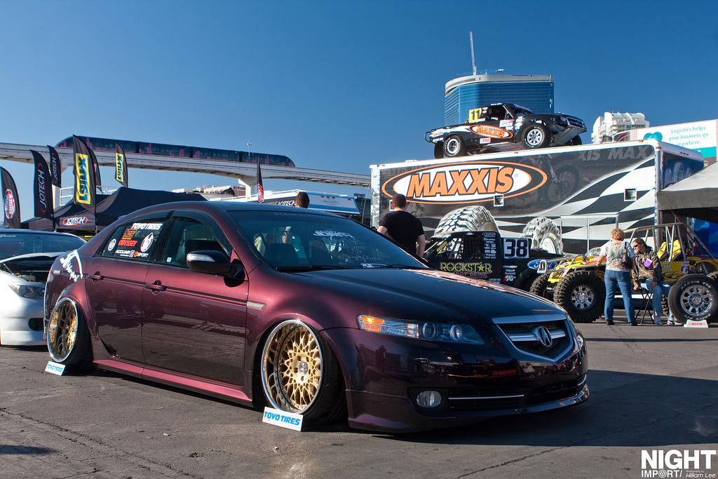 VIP Modular Wheels On Acuras VIPStyleCarscom - Acura tl gold rims