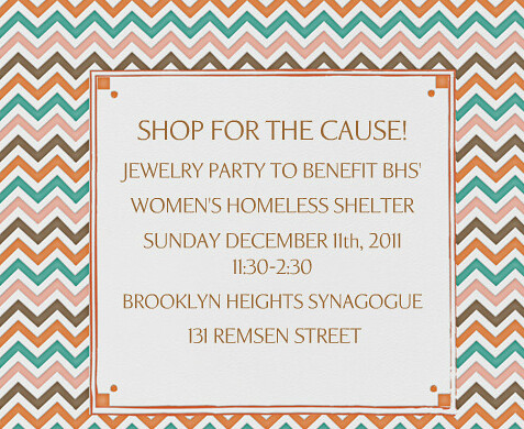 Reminder: Jewelry Party To Benefit Brooklyn Heights