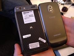 Motorola RAZR & Samsung Galaxy Nexus