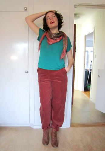 FESA: The corduroy trousers