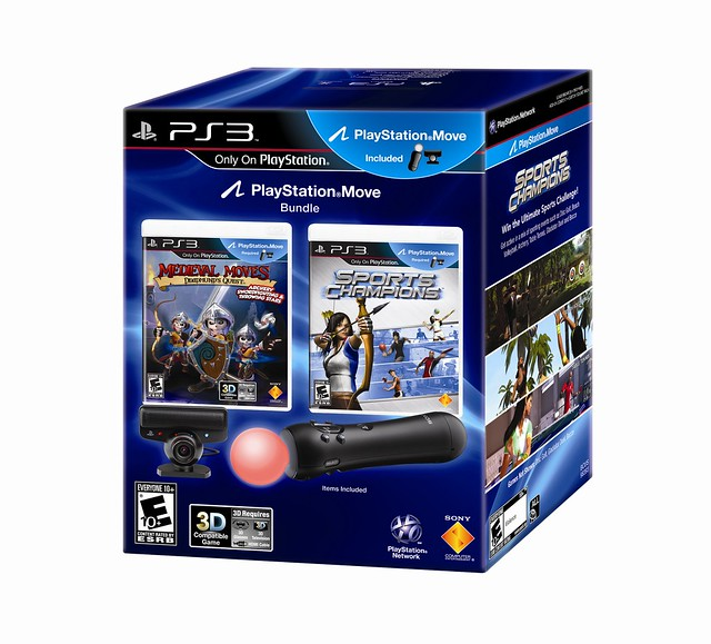 PlayStation Move bundle: Sports Champions and Medieval Moves: Deadmund's Quest bundle