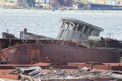 Ahoy! (jeffs4653) Tags: usa newyork abandoned graveyard ship unitedstates sunken statenisland rossville arthurkill statenislandboatgraveyard