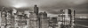 Night (Jay Fine) Tags: nyc newyorkcity panorama sepia night landscape cityscape manhattan hdr lowermanhattan